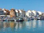 Zona del puerto, reconocida como lugar de gran prestigio gastronomico