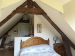 A good sized double bedroom with ensuite shower room with toilet.