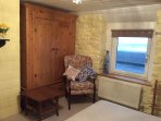 Another bedroom with sea views