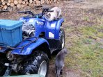 Bring your own ATV and check out the vast trails from your door