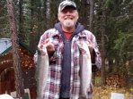 A local catch of Rainbow trout