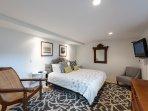 1st Level Guest Bedroom, TV, Private Entrance, Shares Jack & Jill Bath