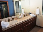 His and Hers bathroom - includes all accessories