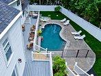 Abalonia Inn - Heated salt water pool