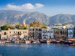 Kyrenia Harbour (~1 hour drive)