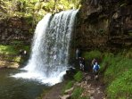 Outstanding Waterfalls - 15 mins away.  Walk for as long or short as you like - Spectacular! Picnic?
