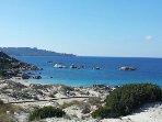La Maddalena: 'Baia Trinita' beach with natural dunes