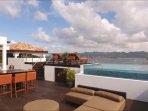 penthouse terrace heated saltwater pool