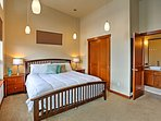 Enjoy views from the Master Bedroom!