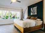 Guest bedroom 5 with queen bed.