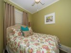 Master bedroom with cieling fan