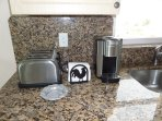 New coffee machine from Cuisinart with different automatic single cup servings.