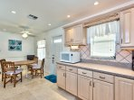 Fully Stocked Kitchen with Nice Appliances! Large Kitchen Perfect for Home Cooked Meals! Separate 'Breakfast' Table and...