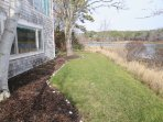 Small yard on water side of the house - 10 Cove Hill North Chatham Cape Cod - New England Vacation Rentals