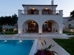 Luxury stone-made villa Rubini