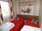 Chambre 1 avec 2 lits 80cm