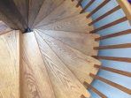 Spiral Stairs Up & Down