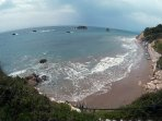 prasoudi beach(about 8 minutes from the house)