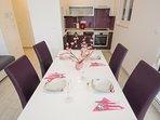 Kitchen-dining area!