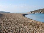 Gannel Estuary and Crantock Beach