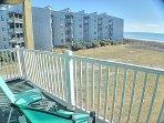 Balcony facing Ocean