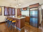 Commercial style fully equiped Entertainers Kitchen