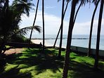 Enjoy uninterrupted view of the Arabian sea! Pic clicked from our compound