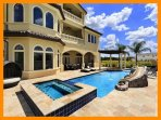 Reunion Resort 2000 - villa with pool, game room and home theater near Disney