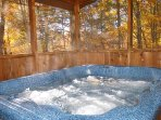 Soak Away in the 17 Jet Hot Tub