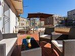 Beautiful sunny terrace, perfect for al fresco dining!