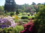 No charge to visit the gardens at Muckross House in the Killarney National Park.