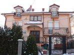 The Vila Papu is situated in the prettiest mountain town in Macedonia, Krusevo.