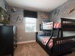 'StarWars' themed bunk room!