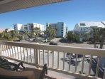 2nd balcony looking toward the street.