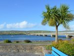 Drive across the bridge at Portamagee Village to Valentia Island.