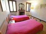 double bedroom #1 - Murano glasses