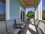 Serene Outdoor Deck