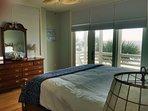 King Bedroom, With Oceanfront Deck!