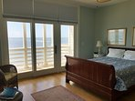 Queen Guest Bedroom With Oceanfront Deck!