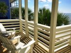 Relax on one of the many Balconies
