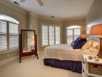 Lower Level Guest Bedroom, Gorgeous Furnishings!