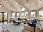 Upper Level Living Room, Terrific plus a View!