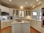 Gorgeous kitchen with every appliance needed!