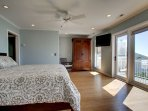 Master Bedroom, Top Floor, Oceanfront