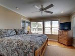 Oceanfront Bedroom, King Bed, First Level