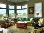 Upper Level Living Area, Oceanfront