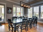 Dining area with seating for all!