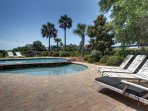 Lay by your pool and enjoy being in the sun