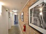 Building inner hallway