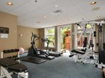 Miraloma fitness room